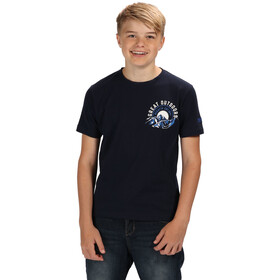 Regatta Bosley II T-Shirt Jungs navy/white